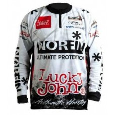 Футболка Norfin/lucky John белая